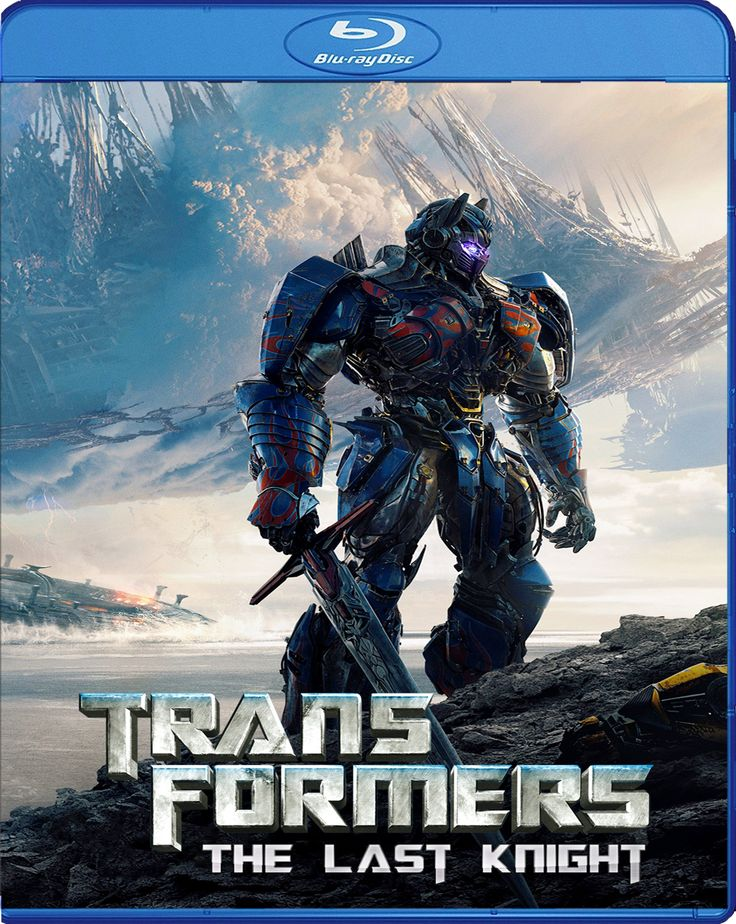 Transformers:The Last Knight - Transformers:Son Şovalye [2017] Blu-ray Cover
