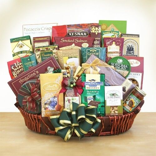 31 best graduation day gift baskets images on pinterest gift ghirardelli gourmet vip gift basket negle Images