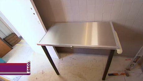 17 meilleures id es propos de table rabattable sur for Gagner de la place dans un studio