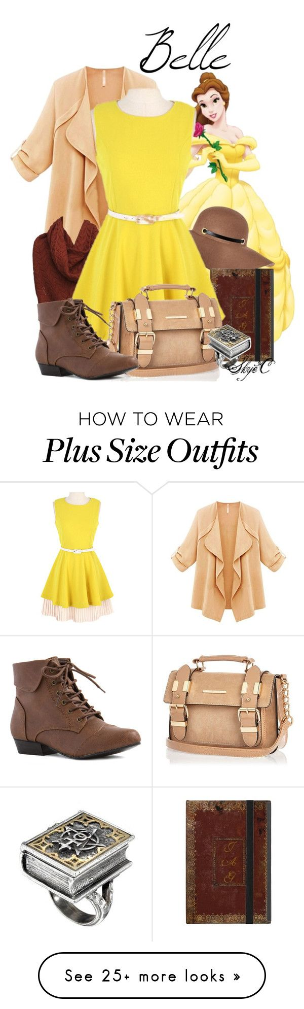 """Belle - Fall - Disney's Beauty and the Beast"" by rubytyra on Polyvore featuring mode en River Island"