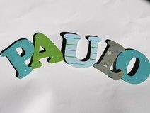 Holzbuchstaben Kinderzimmer 8 cm