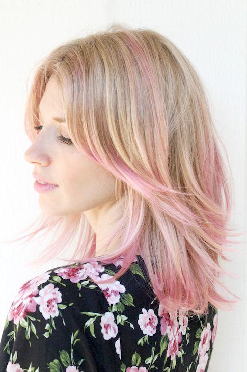 7 Inspiring Pink Ombre Hair Looks #haircolor #beauty #longbob