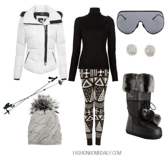 What To Wear A Ski Trip Fashion Style