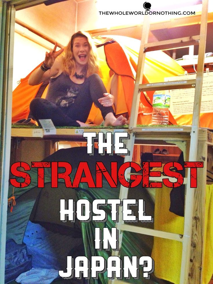 The Strangest Hostel in Japan?
