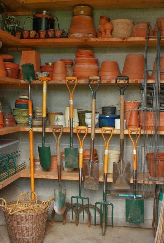 Inside a Potting Shed | Potting Shed for the Potager...