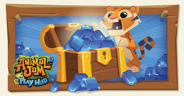 Free Daily sapphires in Animal Jam - Play wild! - The Daily Explorer