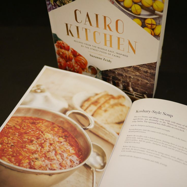 Cairo Kitchen by Suzanne Zeidy. Full of hardy, delicious winter delicious recipes to keep you content through the cooler months.  DeEELlissHH!    http://store.aquirkoffate.com/homewares-books