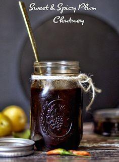 Sweet and Spicy Plum Chutney