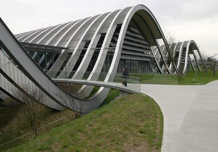 Paul Klee Center in Bern by Renzo Piano
