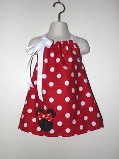 vestidos de minnie para niña pinterest - Google Search