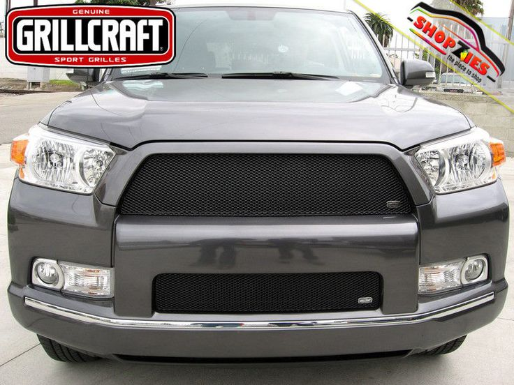 Toyota 4runner 2010 2011 Mesh Grille MX Upper & Lower Insert Kit 2pc T1920-21B
