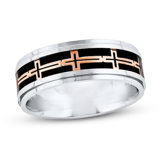 Men S Wedding Band Stainless Steel Jared In 2020 Mens Wedding Bands Wedding Men Wedding Bands