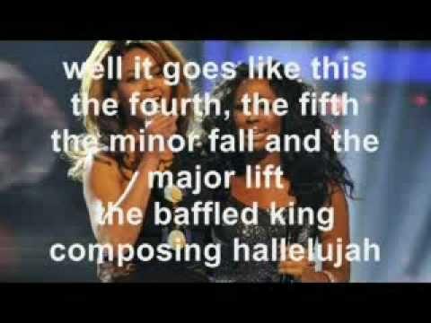 Alexandra Burke- Hallelujah (With Lyrics!) - YouTube