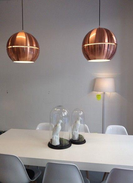 25 beste ideeà n over koperen hanglampen op pinterest koperen