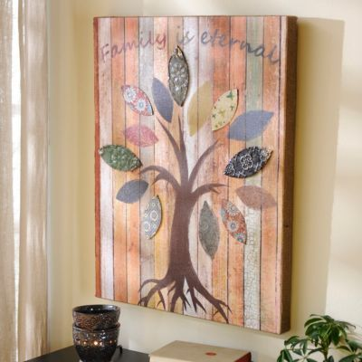 Family is Eternal Canvas Art Print | Kirkland's