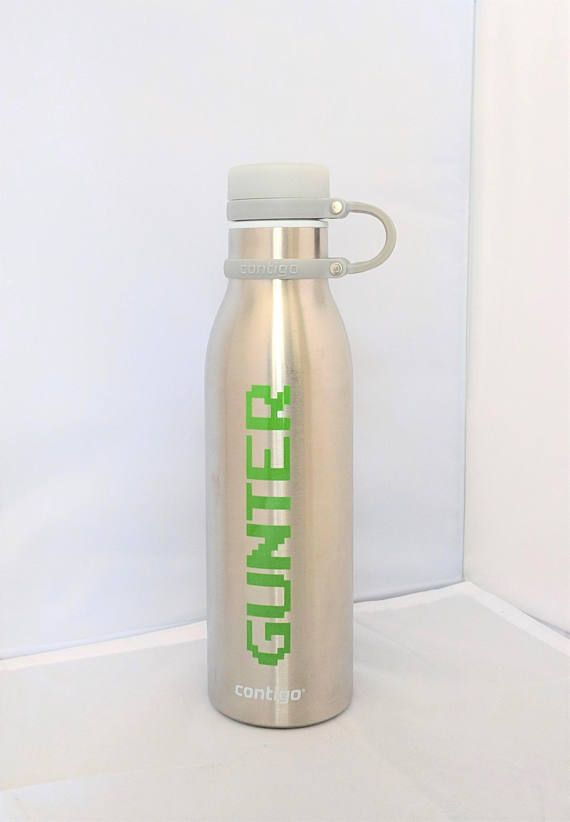 Hey I Found This Really Awesome Etsy Listing At Https Www Etsy Com Listing 584085656 Ready Player One Gunter Stainless Steel Ready Player One Gunter Bottle