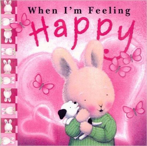 """""""When I'm Feeling Happy"""" by Tracey Moroney. Strong feelings are hard to cope with at any age. But they are particularly difficult for small children, who have no experience or perspective. They may not even have the words to express what they're going through.  With notes for parents from a child psychologist offering some helpful insights. Available at: http://www.booktopia.com.au/when-i-m-feeling-happy-trace-moroney/prod9781741245035.html"""