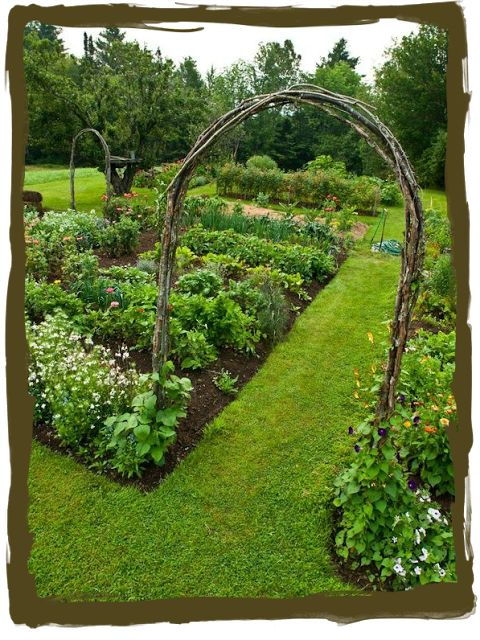 have some decorum: Potager...That's Fancy for Veggie Garden