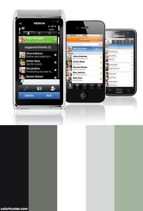 Nimbuzz On Your Mobile Color Scheme