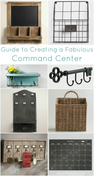 Putting together a family command center helped our family get more organized than ever before. This is a fantastic guide to creating a command center that is stylish and functional.