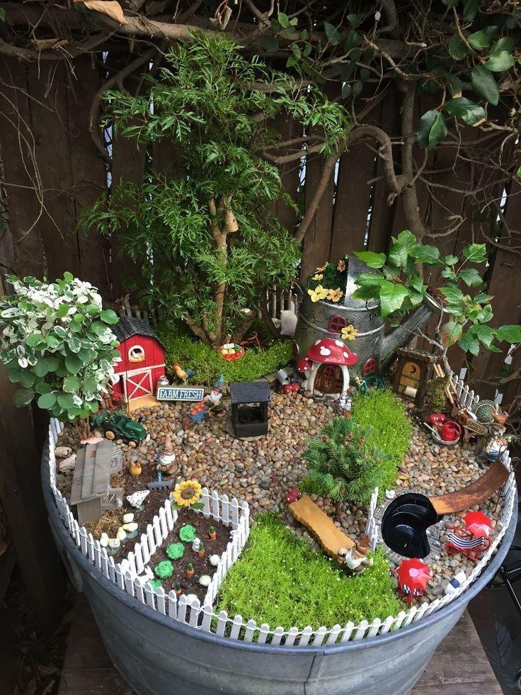 Idees De Jardin Feeriques Etonnants On Devrait Savoir De Devrait Etonnants Feeriques Idees Jardin Savoir Feengarten Miniaturgarten Marchen Garten