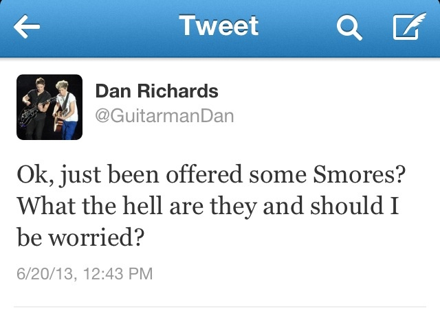 what!!!! you dont know what a smore is!!! how do you live!!? Smores are the most delicious camping food in the world!!