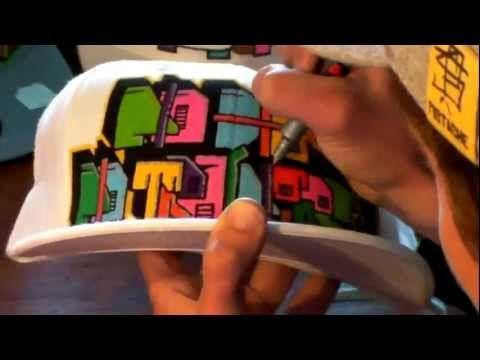 HOW TO GRAFFITI CAPS #6 draw paint graff hip hop new era hiphop street art rap music tutorial video - http://music.linke.rs/how-to-graffiti-caps-6-draw-paint-graff-hip-hop-new-era-hiphop-street-art-rap-music-tutorial-video/