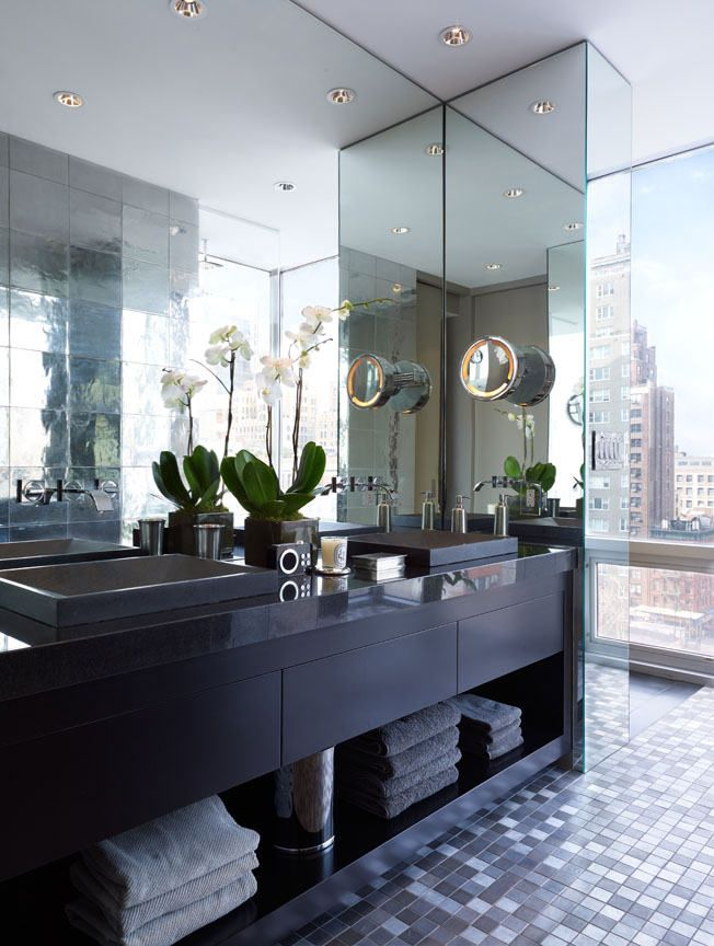 New york penthouse by kna design design community for Nyc bathroom remodeling