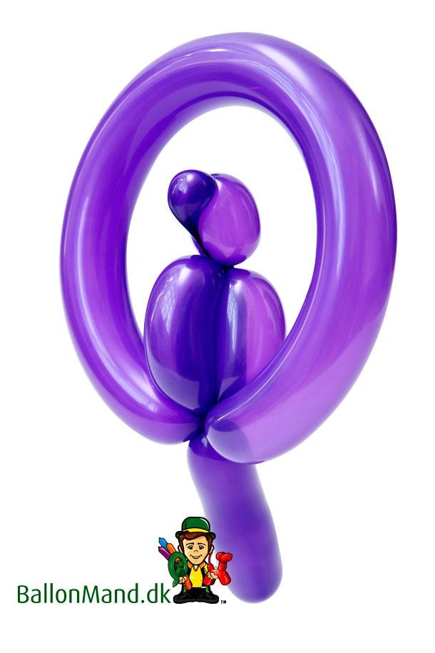 Papegøjen, som er et af de hurtigste dyr vores ballonmænd kan lave. Det tager fra 12-36 sek. at lave den alt efter rutinen.