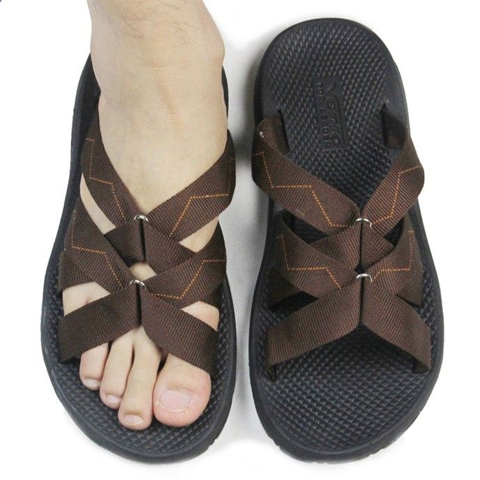 Sandals Summer XDIAN Summer New Footwear Men's Roman Beach Slippers Boys Sports Flat Slippers Mens Sandals Flip Flops Free Shipping - DinoDirect.com - There is nothing more comfortable and cool to wear on your feet during the heat season than some flat sandals.