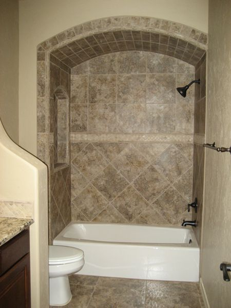 17 best ideas about bathtub tile surround on pinterest bathtub tile guest bathroom remodel - Tile shower surround ideas ...