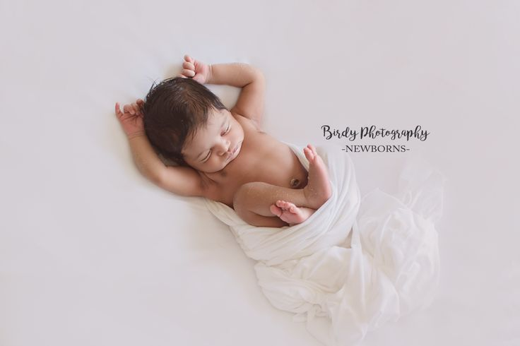 Pure simple newborn imagery by birdy photography