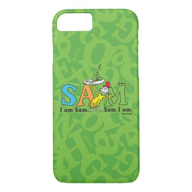 Dr Seuss Sam I Am iphone case