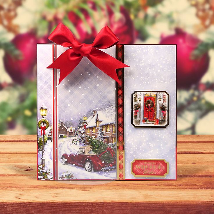 Christmas Traditions Topper Set - Driving Home for Christmas | Hunkydory Crafts