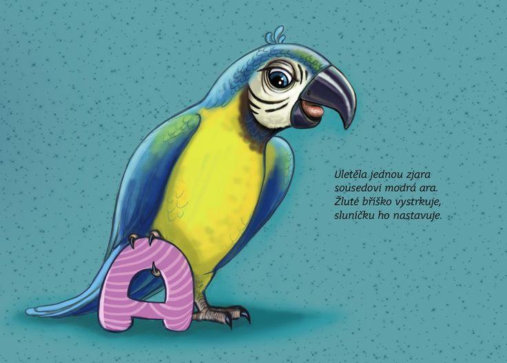 Personalisovaná kniha na míru, ve které zvířátka písmenko po písmenku skládají jméno a příjmení vašeho dítěte - to je kniha Moje jmén...