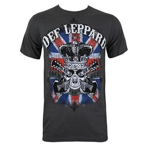 Def Leppard Rock of Ages Men's T-Shirt (Grey)