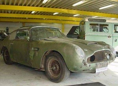 Aston Martin On Wheels Dumped Find This Pin And More Supercar Barn
