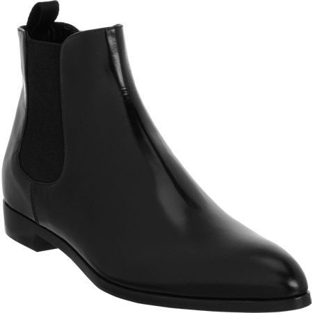Prada Pointed Toe Chelsea Boot at Barneys.com