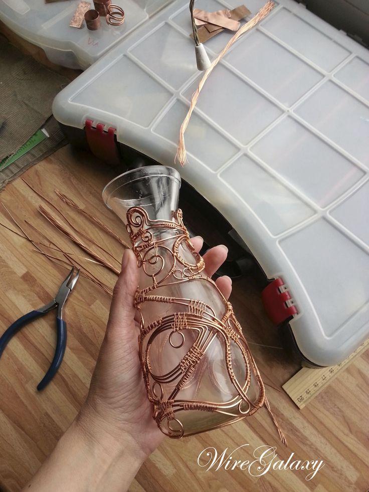 My wire work. Workshop