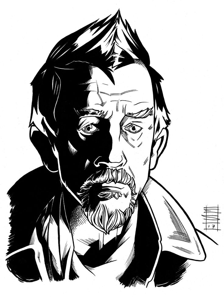 """Great men are forged in fire. It is the privilege of lesser men to light the flame""    Doctor Who - John Hurt as the War Doctor. Inks, 2017  #art #doctorwho #inks #johnhurt #stevenmoffat #fanarttraditionalart #wardoctor"