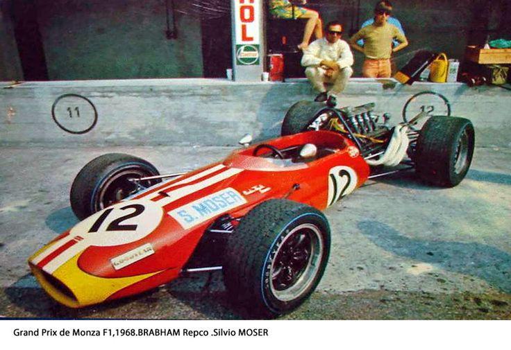 1968 GP Włoch (Monza) Brabham BT20 - Repco (Silvio Moser)