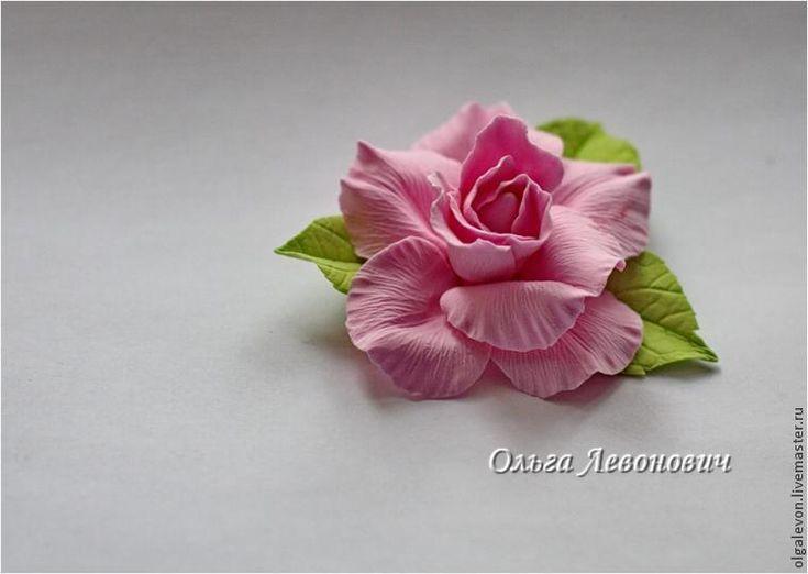 Мастер-класс по лепке розочки из самозатвердевающей глины « Керамическая флористика. Цветы из холодного фарфора. Уроки и мастер-классы