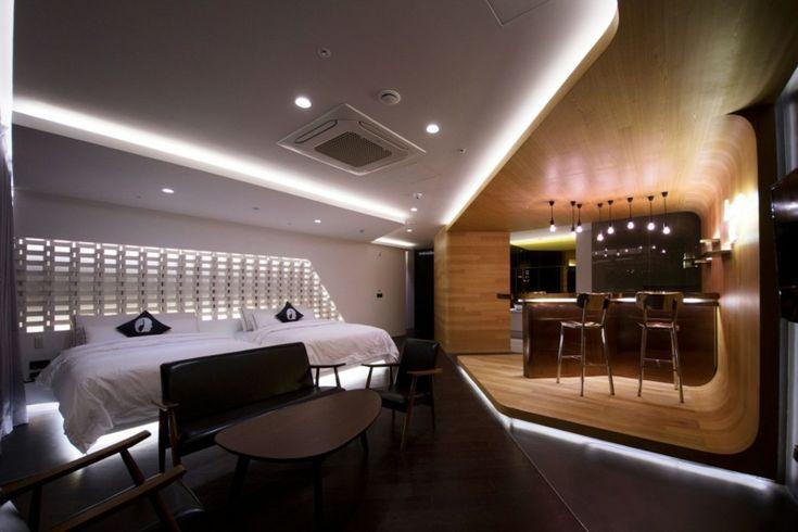 Hotelzimmer Design Mit Indirekter Beleuchtung U2013 Luxus Pur