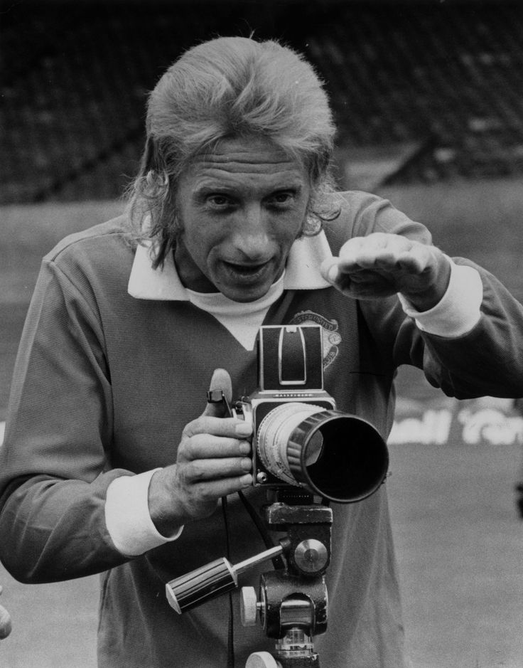 Scotsman Denis Law established legendary status during his time @manutd. Signed in 1962, the Lawman was appointed captain two years later and scored a phenomenal 404 goals during his 11 years at Old Trafford.