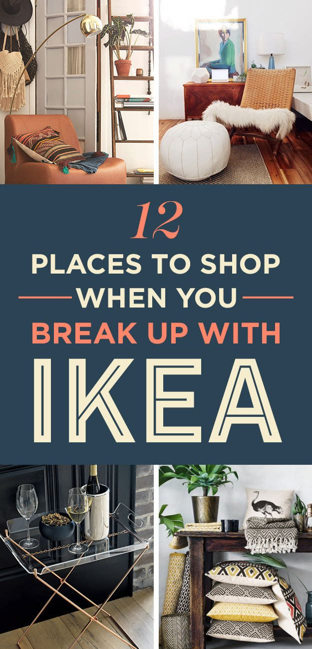 12 Stores That You'll Want To Cheat On Ikea With