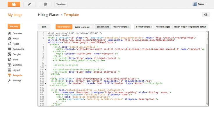 Blogger Buzz: Improvements to the Blogger template HTML editor