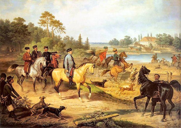 Polowanie na jelenia - January Suchodolski.