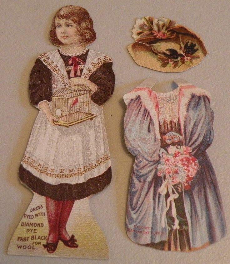 Free Victorian Paper Dolls
