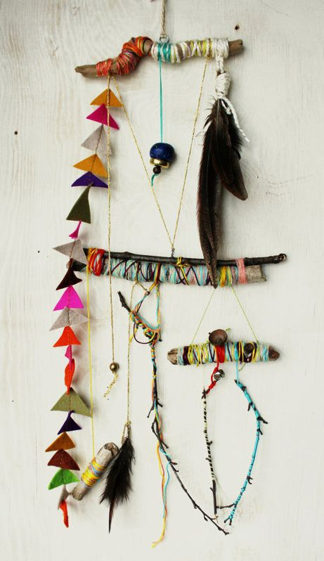 Blogpost by Inspire Styling for urbans and indians | Magical Mobiles | It's a system of strings - Folk art mobile