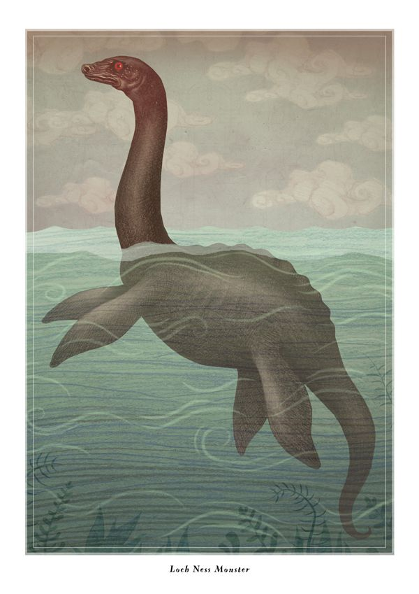 Loch Ness Monster by V-L-A-D-I-M-I-R on DeviantArt